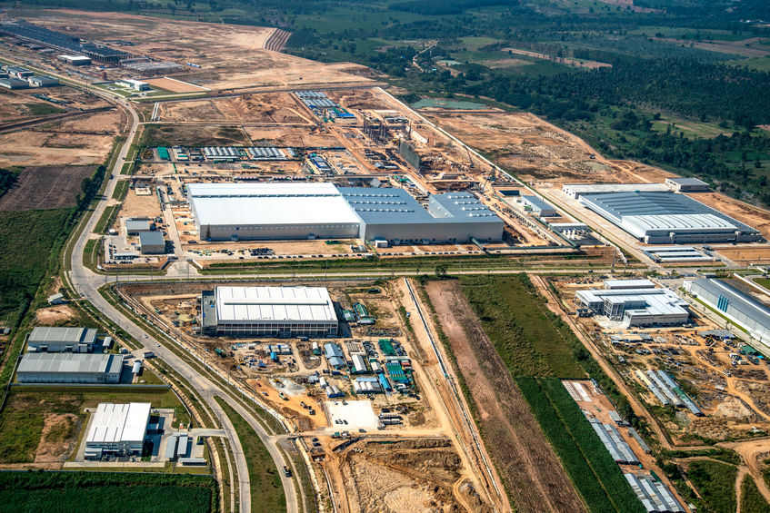 Industrial development on the rise in Australia to meet growing demand.