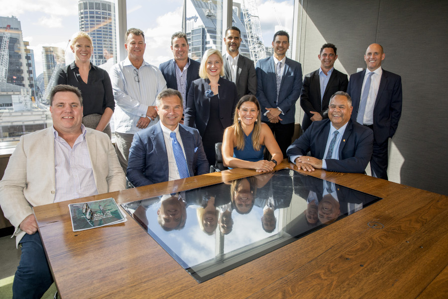 The members of CBRE's Indigenous Centre of Excellence