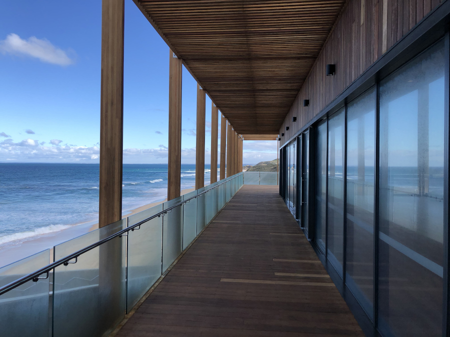 Portsea Surf Lifesaving renovations at completion of the project.